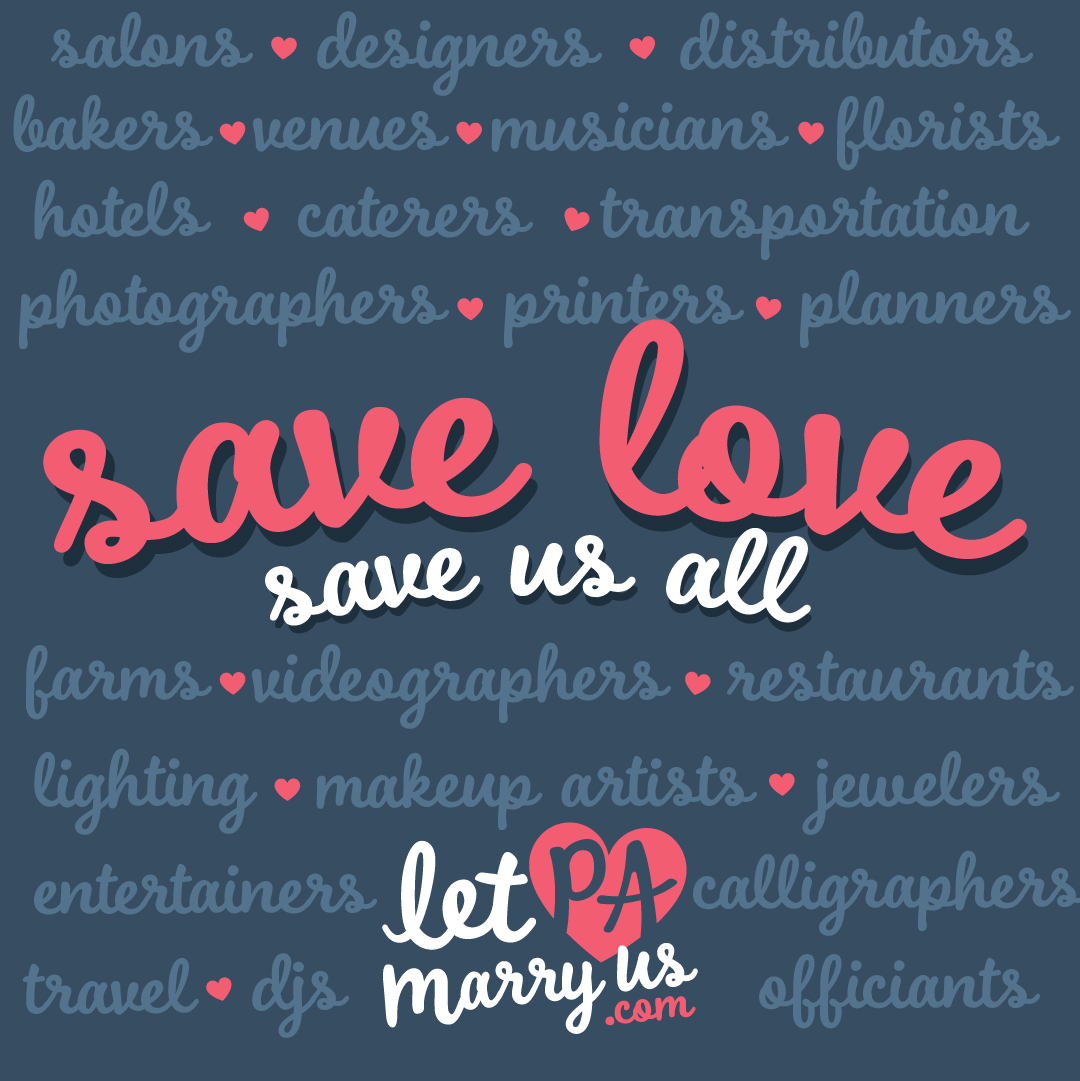 Save Love Save Us All Graphic to share on social media platforms